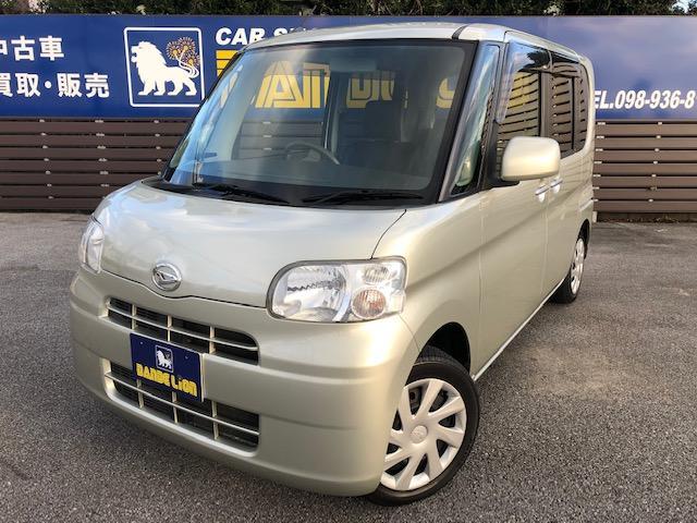 沖縄の中古車 ダイハツ タント 車両価格 42万円 リ済別 2012(平成24)年 9.7万km ライトゴールド