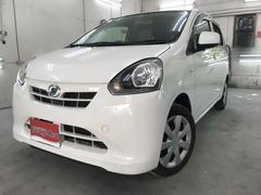 沖縄の中古車 ダイハツ ミライース 車両価格 34万円 リ済込 平成25年 8.6万K ホワイト