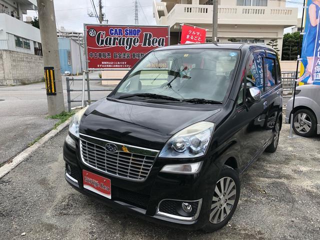 沖縄の中古車 スバル ステラ 車両価格 28万円 リ済込 2009(平成21)年 10.0万km ブラックM