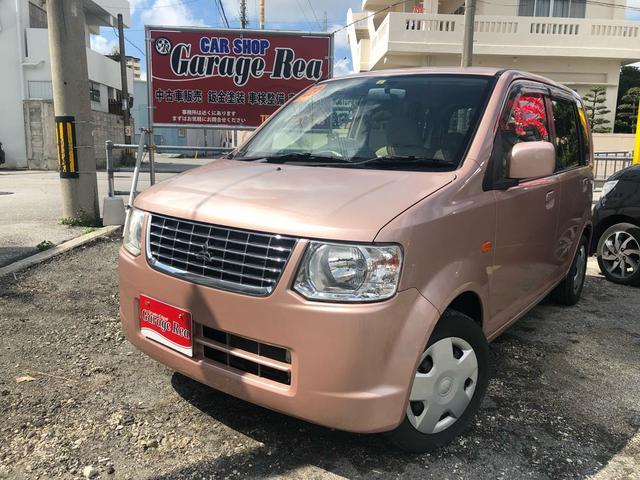 沖縄の中古車 三菱 eKワゴン 車両価格 32万円 リ済込 2011(平成23)年 5.6万km ピンクM