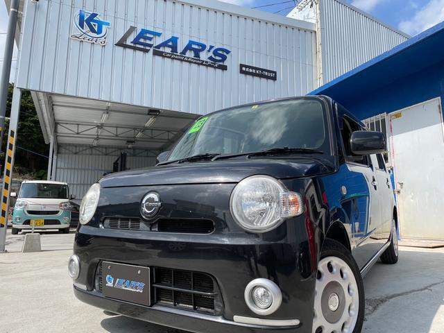 沖縄の中古車 ダイハツ ミラココア 車両価格 41万円 リ済込 2011(平成23)年 9.9万km ブラックM