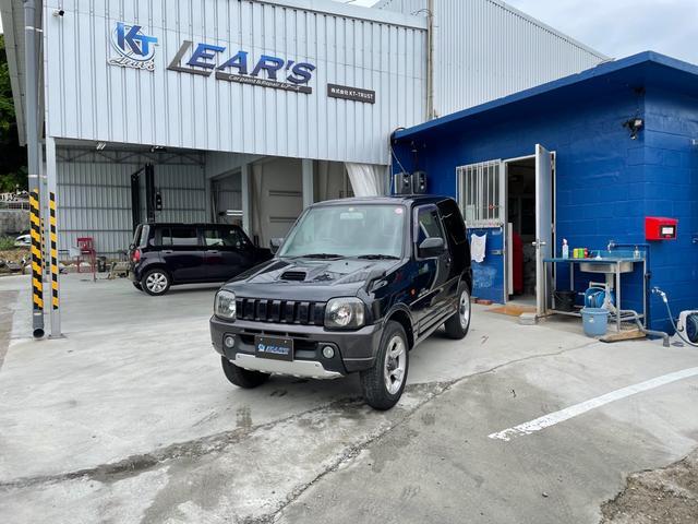 沖縄の中古車 スズキ ジムニー 車両価格 36万円 リ済込 2004(平成16)年 17.8万km ブラックII