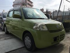 沖縄の中古車 ダイハツ エッセ 車両価格 19万円 リ済込 平成18年 8.8万K リーフグリーン