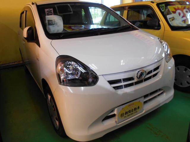 沖縄の中古車 ダイハツ ミライース 車両価格 55万円 リ済込 平成25年 5.0万km ホワイト