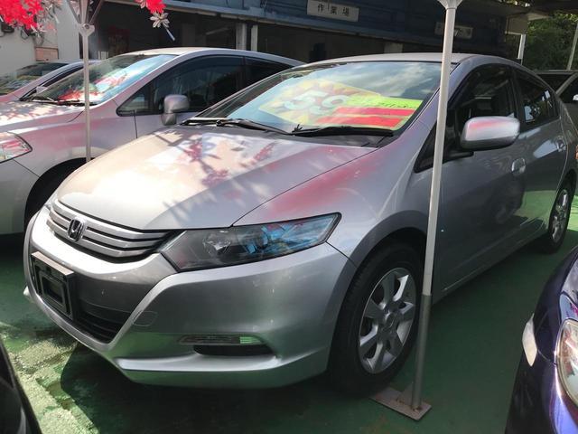 沖縄の中古車 ホンダ インサイト 車両価格 45万円 リ済込 2009(平成21)年 5.5万km グレーM
