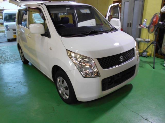 沖縄の中古車 スズキ ワゴンR 車両価格 29万円 リ済込 平成21年 18.2万km ホワイト