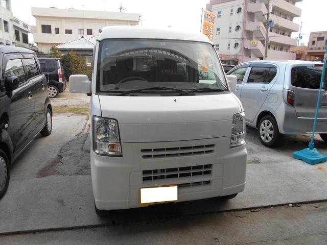 沖縄の中古車 スズキ エブリイ 車両価格 45万円 リ済込 2012(平成24)年 13.7万km ホワイト