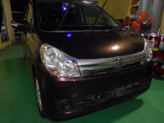 沖縄の中古車 ダイハツ ミラカスタム 車両価格 45万円 リ済込 平成21年 5.6万km ブラウンM