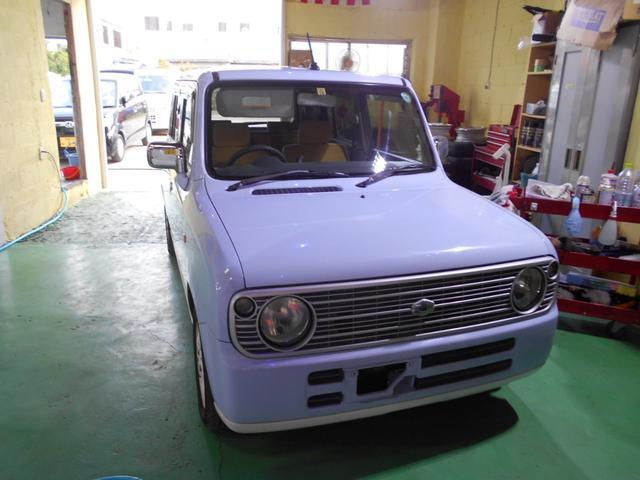 沖縄県の中古車ならアルトラパン GセレクションIII