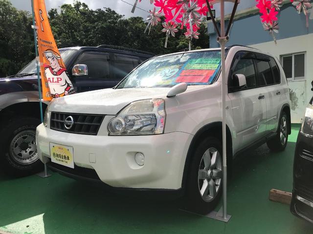 沖縄県の中古車ならエクストレイル 20Xtt 4WD バックカメラ フルセグTV