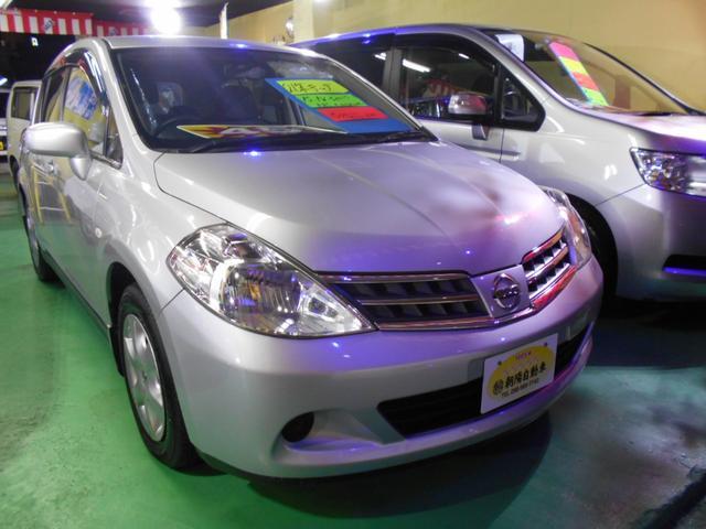 沖縄の中古車 日産 ティーダ 車両価格 25万円 リ未 2009(平成21)年 8.9万km シルバーM