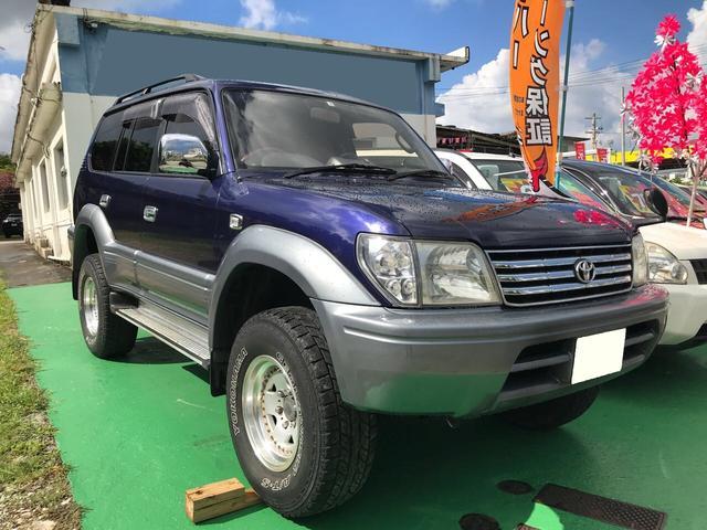 沖縄県の中古車ならランドクルーザープラド TZ ディーゼルターボ