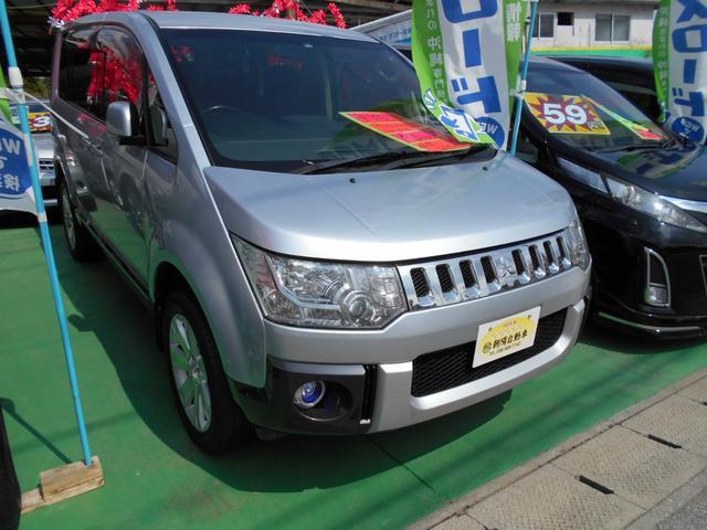 沖縄県の中古車ならデリカD:5 G パッケージ 4WD車