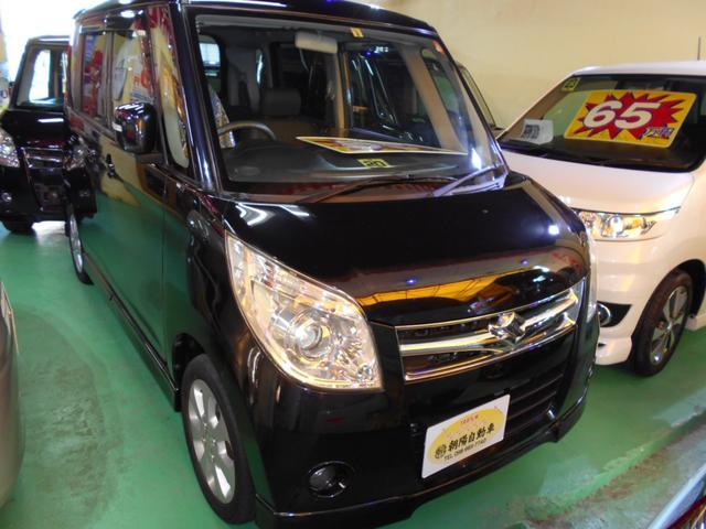沖縄の中古車 スズキ パレット 車両価格 55万円 リ済込 2008(平成20)年 6.1万km ブラックM