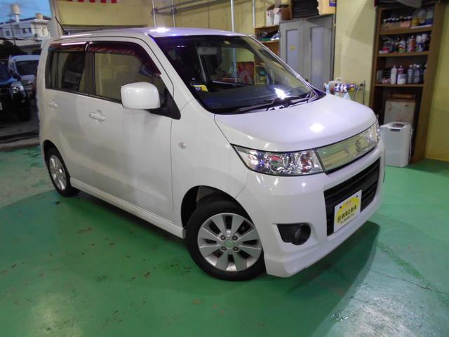 沖縄県の中古車ならワゴンRスティングレー X プッシュスタート バックモニター