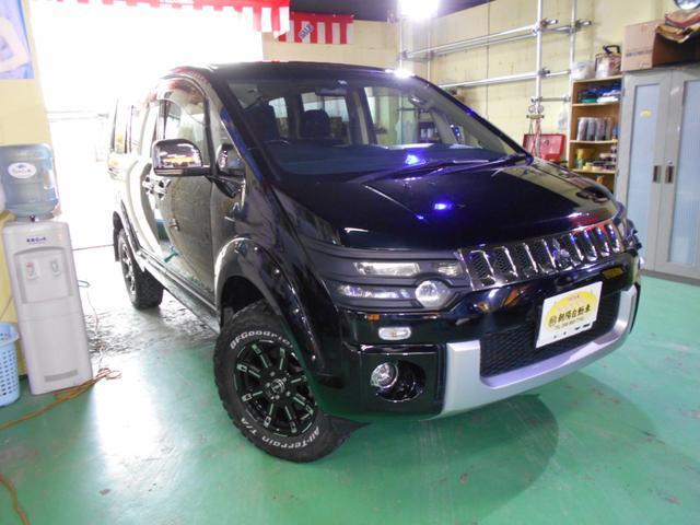 三菱 デリカD:5 4WD シャモニー