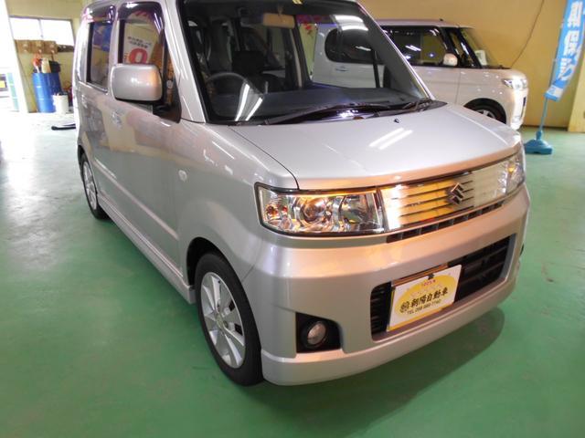 沖縄の中古車 スズキ ワゴンR 車両価格 35万円 リ済込 2008(平成20)年 7.7万km シルバーM