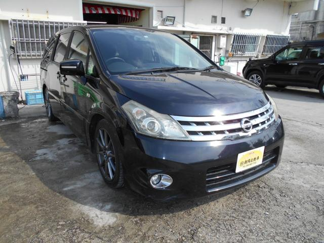 沖縄の中古車 日産 プレサージュ 車両価格 16万円 リ済込 2006(平成18)年 17.0万km ダークブルーII