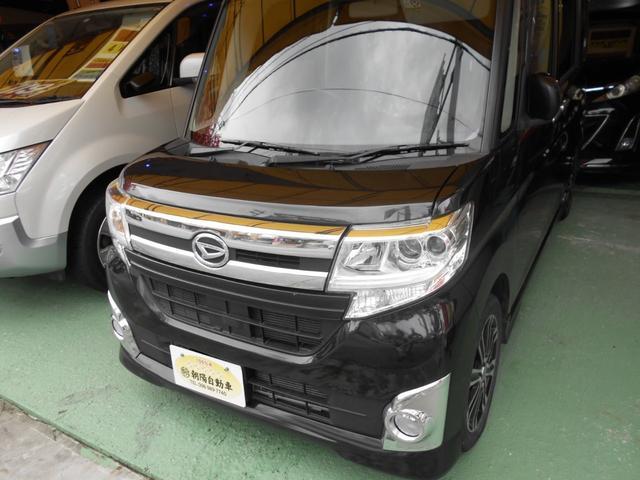 沖縄県の中古車ならタント カスタムRS/ナビ/フルセグTV/両側パワースライド