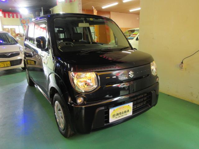 沖縄の中古車 スズキ MRワゴン 車両価格 55万円 リ済込 2012(平成24)年 9.3万km ブラック