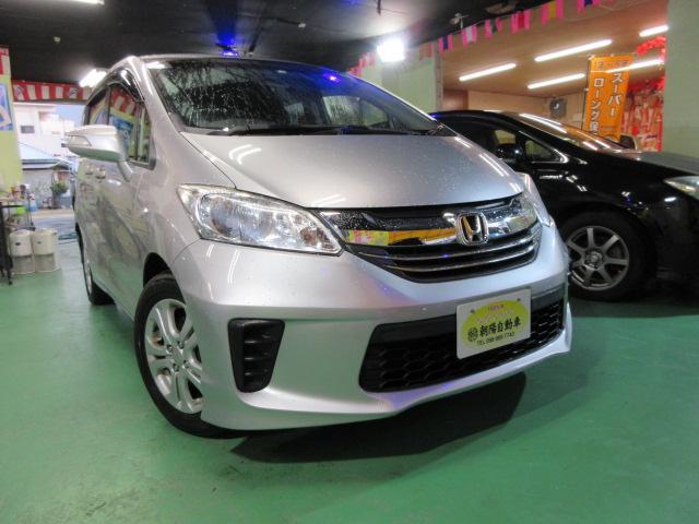 沖縄の中古車 ホンダ フリード 車両価格 169万円 リ済込 2016(平成28)年 3.4万km シルバーM