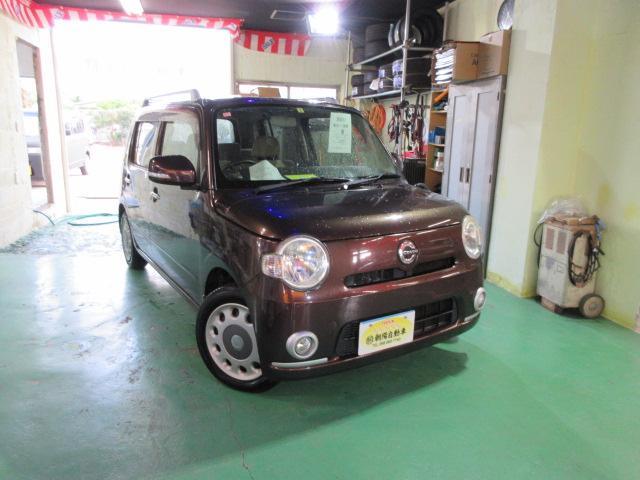沖縄の中古車 ダイハツ ミラココア 車両価格 45万円 リ済込 2010(平成22)年 9.8万km ブラウンM