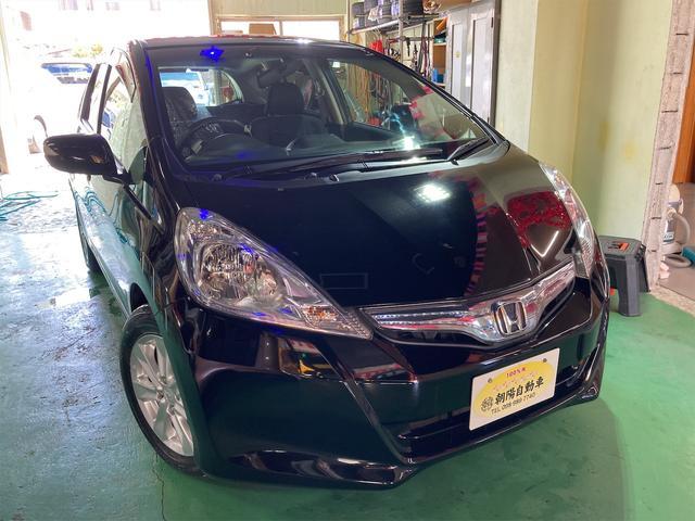 沖縄県の中古車ならフィットハイブリッド ナビプレミアムセレクション