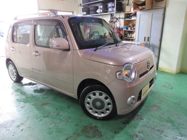 沖縄の中古車 ダイハツ ミラココア 車両価格 ASK リ済込 2010(平成22)年 4.0万km ピンク