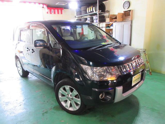 沖縄の中古車 三菱 デリカD:5 車両価格 149万円 リ済込 2008(平成20)年 9.7万km Dグリーン