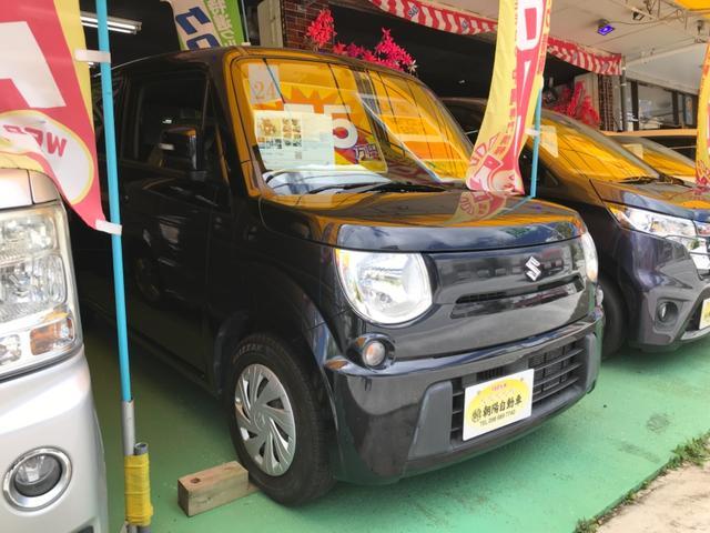 沖縄県の中古車ならMRワゴン ECO-X スマートキー プッシュスタート アイドリングストップ ナビ バックカメラ オートエアコン ベンチシート Wエアバッグ 2年保証
