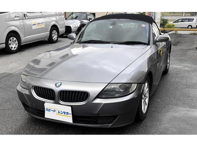 沖縄の中古車 BMW BMW Z4 車両価格 152.6万円 リ済別 2009(平成21)年 8.3万km グレー