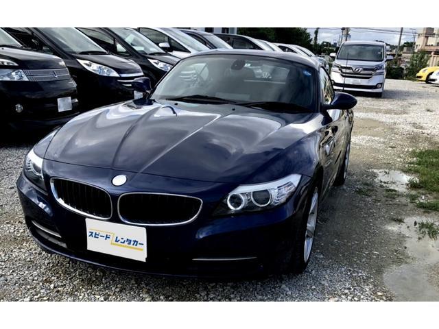 沖縄の中古車 BMW BMW Z4 車両価格 179万円 リ済別 2009(平成21)年 6.7万km ダークブルー