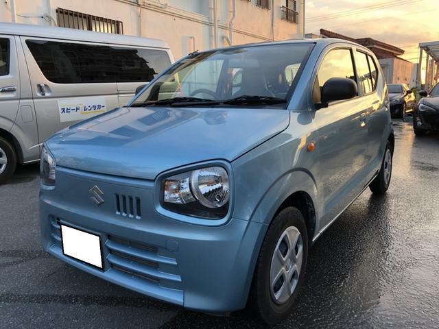 沖縄の中古車 スズキ アルト 車両価格 63万円 リ済別 平成29年 1.2万km ブルー