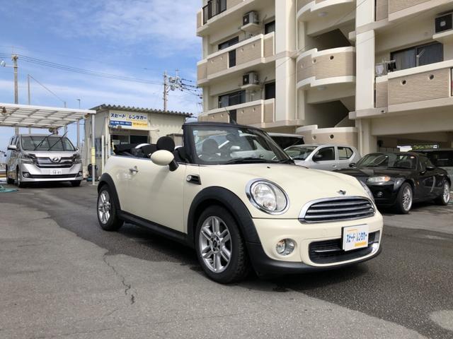 沖縄の中古車 MINI MINI 車両価格 179万円 リ済別 2013(平成25)年 2.9万km ホワイト