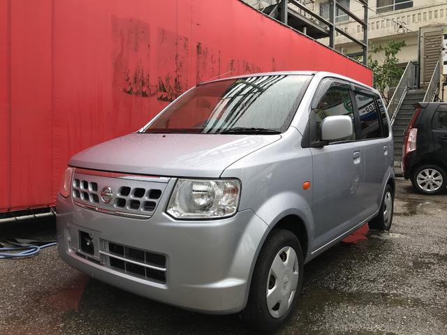 沖縄の中古車 日産 オッティ 車両価格 ASK リ済込 2013(平成25)年 7.9万km クールシルバーM