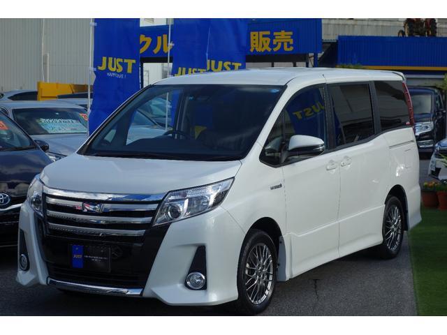 沖縄の中古車 トヨタ ノア 車両価格 245万円 リ済込 平成28年 6.8万km パールホワイト