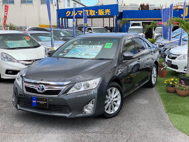 沖縄の中古車 トヨタ カムリ 車両価格 139万円 リ済込 平成24年 3.9万km グレーM