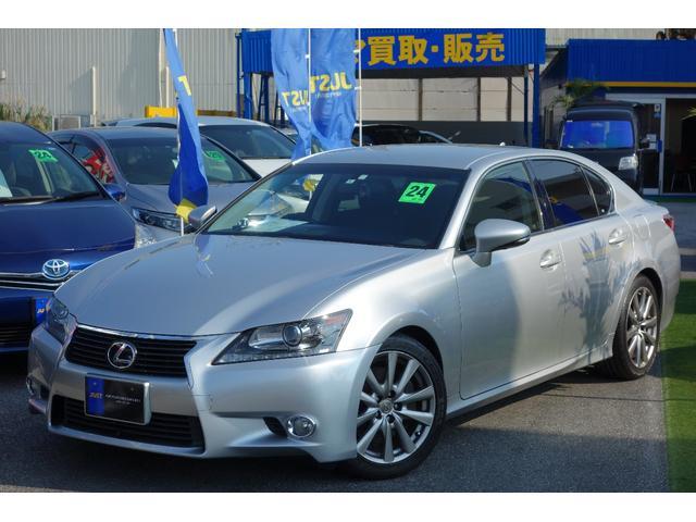 沖縄の中古車 レクサス GS 車両価格 215万円 リ済込 平成24年 8.9万km シルバーM