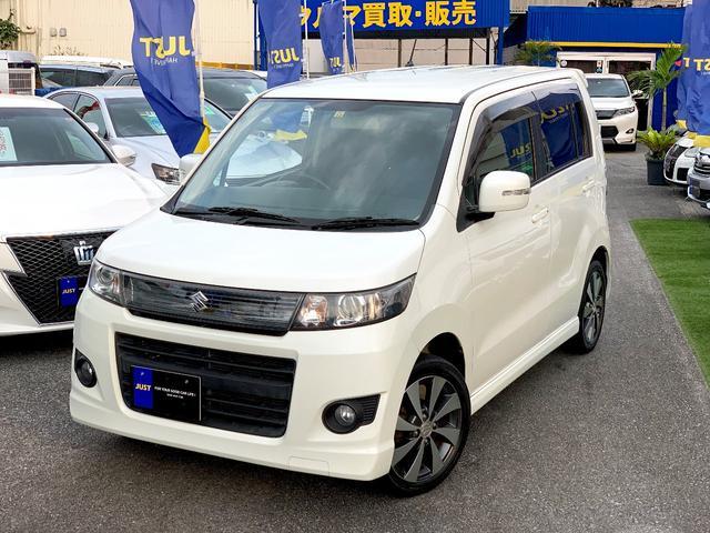 沖縄県の中古車ならワゴンRスティングレー リミテッドII・フルセグTV・DVD・HDD・USB・ETC