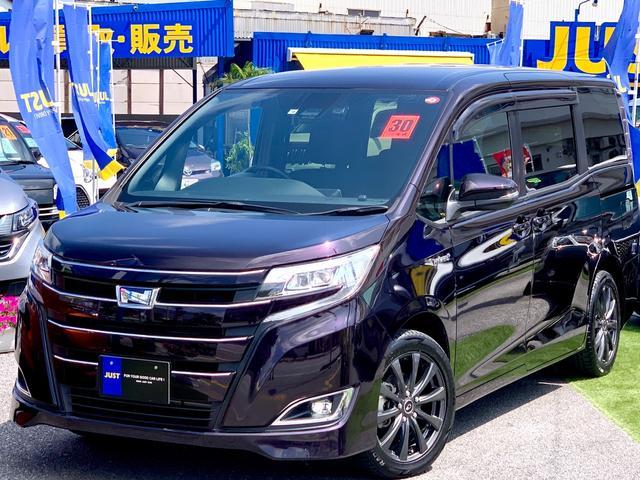 沖縄県の中古車ならノア ハイブリッドG ・T-Connectナビ10インチモデル・ドラレコ連動ETC連動・マルチビューカメラ・ルーフスピーカー・フルセグTV、DVD、走行見れます♪Bluetooth・Wi-Fi・Wパワースライドドア