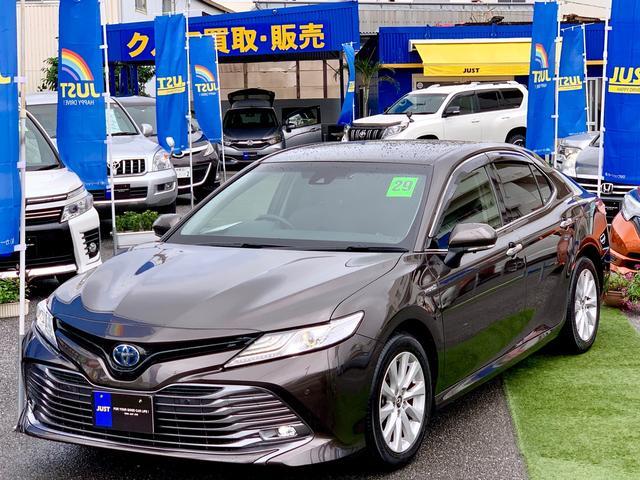 沖縄の中古車 トヨタ カムリ 車両価格 245万円 リ済込 2017(平成29)後 3.2万km ブラウンM