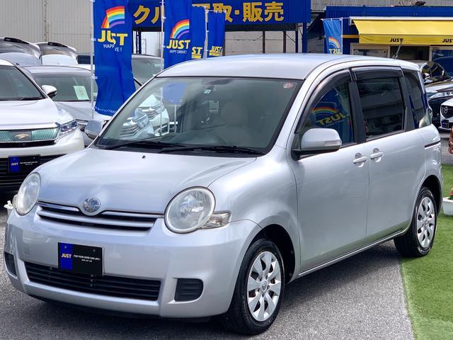 トヨタ X コンパクト3列シート7人乗り・TV・バックカメラ・キーレス・UVカットガラス・禁煙車・・・