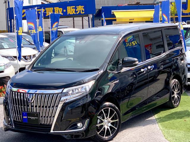沖縄の中古車 トヨタ エスクァイア 車両価格 265万円 リ済込 2017(平成29)後 3.6万km 202ブラック