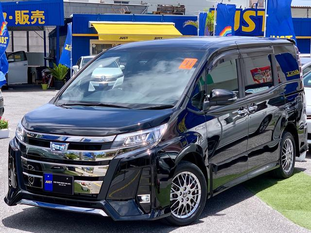 沖縄の中古車 トヨタ ノア 車両価格 259万円 リ済込 2019(平成31)後 2.2万km ブラック
