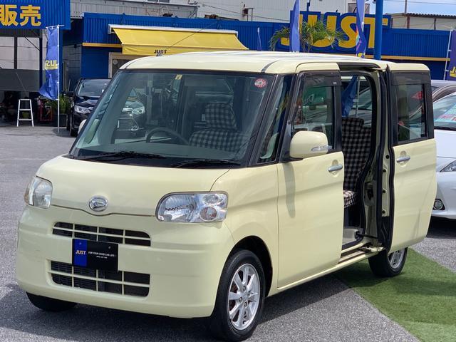 沖縄県沖縄市の中古車ならタント Xリミテッド スマートキー・パワースライドドア・DVD/CD・アルミホイール