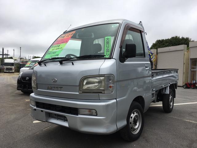 沖縄の中古車 ダイハツ ハイゼットトラック 車両価格 36万円 リ済別 平成12年 10.7万km シルバー
