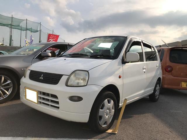 沖縄の中古車 三菱 ミニカ 車両価格 15万円 リ済込 平成16年 10.0万km ホワイト
