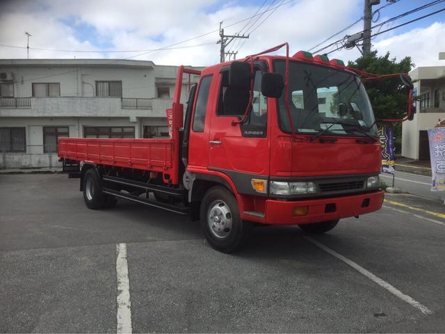 沖縄の中古車 日野 レンジャー 車両価格 ASK リ済別 平成11年 14.2万km レッドM