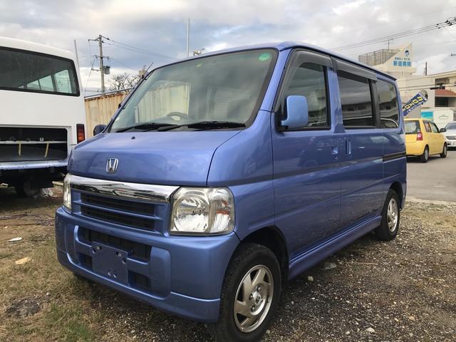 沖縄県の中古車ならバモス ターボ ナビ DVD