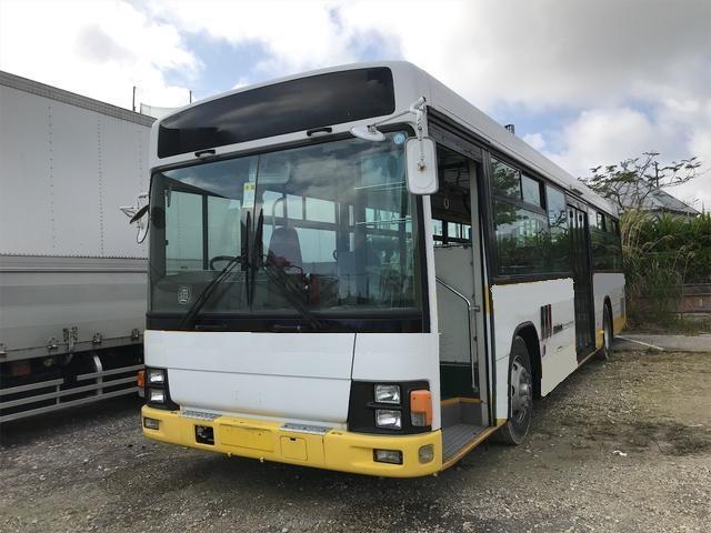 沖縄県沖縄市の中古車ならいすゞ 教習バス 補助席 補助ブレーキ